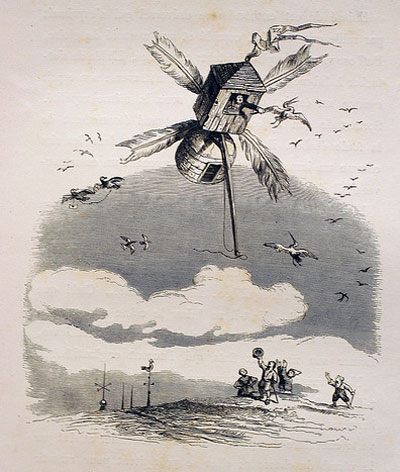 grandville-flying